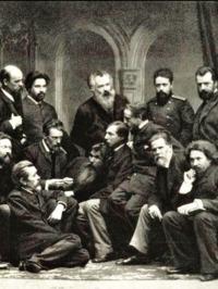 русские художники передвижники старинное фото 1886 год царская Россия